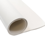 white nitrile sheet